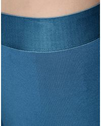 MM6 by Maison Martin Margiela - Blue Leggings - Lyst