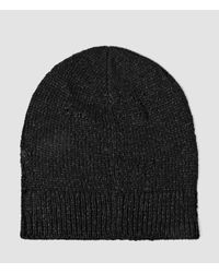 AllSaints | Black Ektarr Beanie Hat Usa Usa for Men | Lyst
