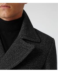 Reiss   Gray Boston Double Breasted Jacket for Men   Lyst