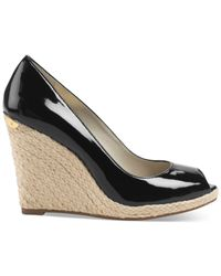 Michael Kors - Black Michael Keegan Wedges - Lyst
