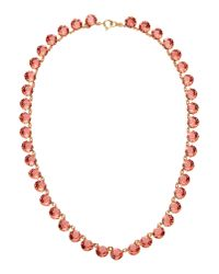 Ca&Lou | Red Necklace | Lyst