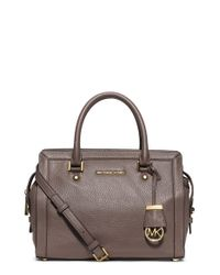MICHAEL Michael Kors | Brown 'medium Collins' Satchel | Lyst