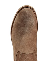 Ralph Lauren Collection - Suede Boots - Brown - Lyst