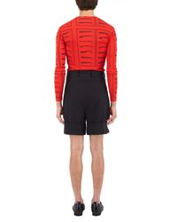 J.W.Anderson - Red Tool Print Long Sleeve Top for Men - Lyst