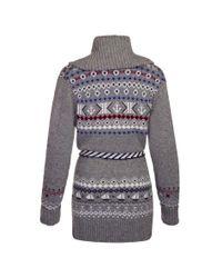 Henri Lloyd | Gray Norine Oversized Cardi Knit | Lyst