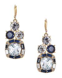 kate spade new york | Blue Capri Garden French Wire Earrings Bright Beryl | Lyst