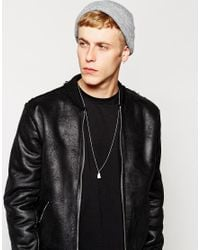 Cheap Monday - Metallic Tooth Necklace for Men - Lyst
