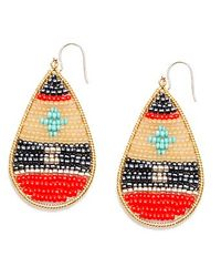 Nakamol | Multicolor Tatonga Earrings-Coral Mix | Lyst