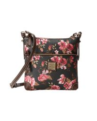 Dooney & Bourke - Multicolor Carbbage Rose Letter Carrier - Lyst