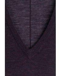 JOSEPH - Cashmere Pullover - Purple - Lyst