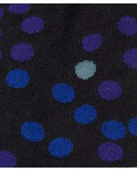 Paul Smith | Black Polka Dot Socks for Men | Lyst