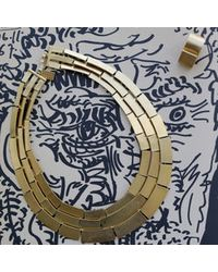 Kelly Wearstler | Metallic Medina 3 Row Necklace | Lyst