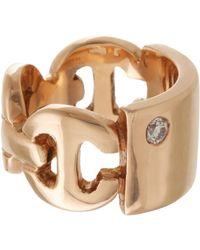 Hoorsenbuhs | Metallic Id Plate Ring | Lyst