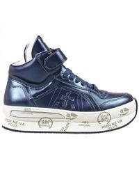 Premiata | Blue Sneakers | Lyst