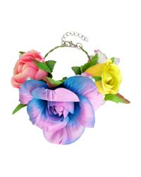 H&M | Multicolor Bracelet With Flowers | Lyst