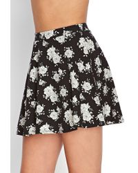 Forever 21 | Multicolor Floral Print Circle Skirt | Lyst