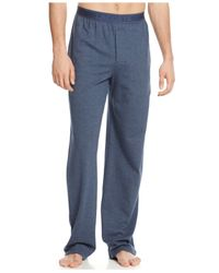 Lacoste | Blue Pique Pajama Pants for Men | Lyst