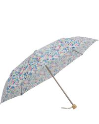 London Undercover - Blue Claire Aude Liberty Print Compact Umbrella - Lyst