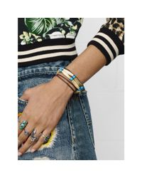 Denim & Supply Ralph Lauren - Natural Hairpipe Beaded Bracelet - Lyst