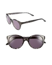 BCBGMAXAZRIA | Black 'lacey' 48mm Sunglasses | Lyst