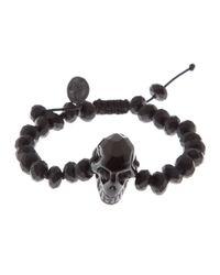Joseph Brooks | Black Skull Bracelet for Men | Lyst