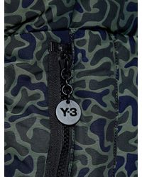 Y-3   Green Camouflage-print Tote   Lyst