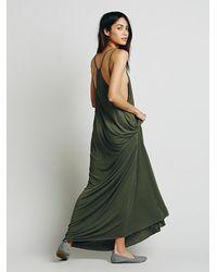 Free People | Green Fp Beach Womens Bright Lights Dress | Lyst