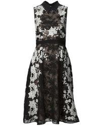 Erdem | Black Kali Dress | Lyst
