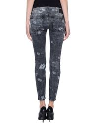 DRYKORN - Gray Denim Pants - Lyst