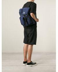 Moncler - Blue 'Gerard' Backpack - Lyst