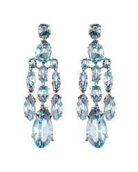 Alexis Bittar - Blueberry Marquis Chandelier Earring You Might Also Like - Lyst
