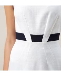 Hobbs - White Yvonna Dress - Lyst