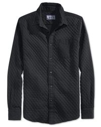 American Rag | Black Riley Diamond Shirt for Men | Lyst