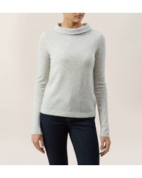 Hobbs - Gray Audrey Sweater - Lyst