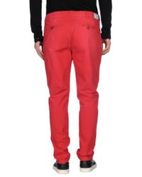 Armani Jeans - Red Denim Pants for Men - Lyst