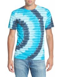 Hurley | Black 'Strydye' Print T-Shirt for Men | Lyst