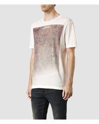 AllSaints - White Folk Crew T-shirt for Men - Lyst