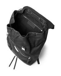 Balenciaga - Black Leather Backpack for Men - Lyst