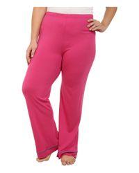 Cosabella | Pink Plus Size Bella Pj Long Sleeve Top And Pants Pj Set | Lyst