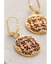 Anthropologie | Metallic Filigree Sunset Earrings | Lyst