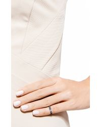 AS29 - Black Lana Pinky Ring - Lyst