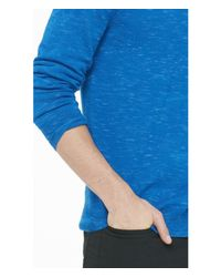 Express | Purple Marled Merino Wool V-neck Sweater for Men | Lyst