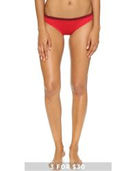 Calvin Klein | Red Pure Seamless Bikini Panties - Primary | Lyst