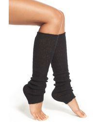 Hue | Black Knit Leg Warmers | Lyst