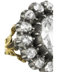 Olivia Collings | Metallic 1860S 18-Karat Gold Diamond Ring | Lyst
