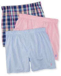 Polo Ralph Lauren | Multicolor Men's Boxers 3-pack for Men | Lyst