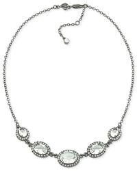 Carolee | Metallic Phantom Graduated Statement Necklace | Lyst