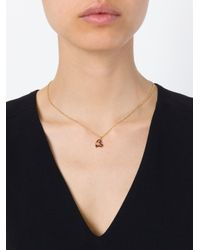Vivienne Westwood - Purple Orb Heart Pendant Necklace - Lyst