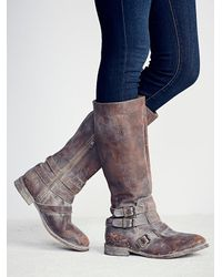 Free People | Brown River Bend Tall Boot | Lyst
