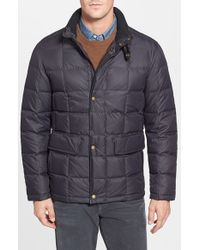 Cole Haan - Black Box Quilt Down Jacket for Men - Lyst